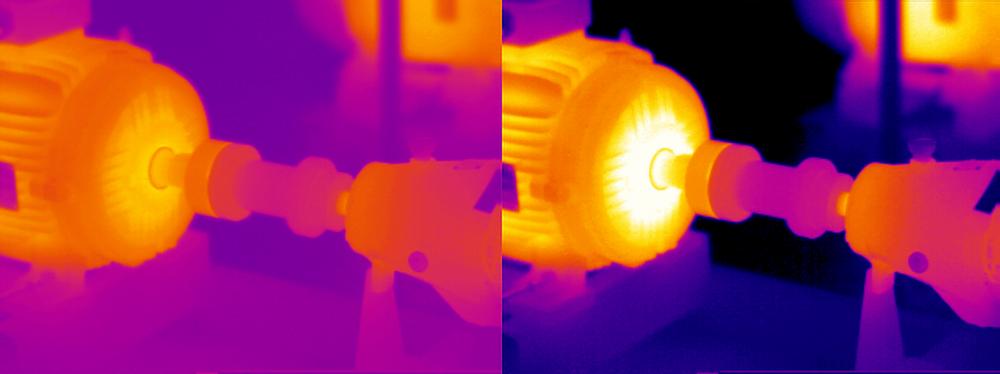 Misma máquina, misma inspección, mismas temperaturas...DIFERENTE IMAGEN?