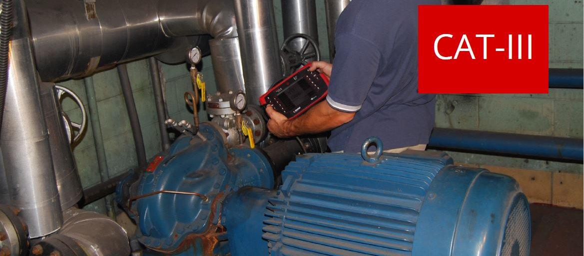 Vibración mecánica ISO CAT III