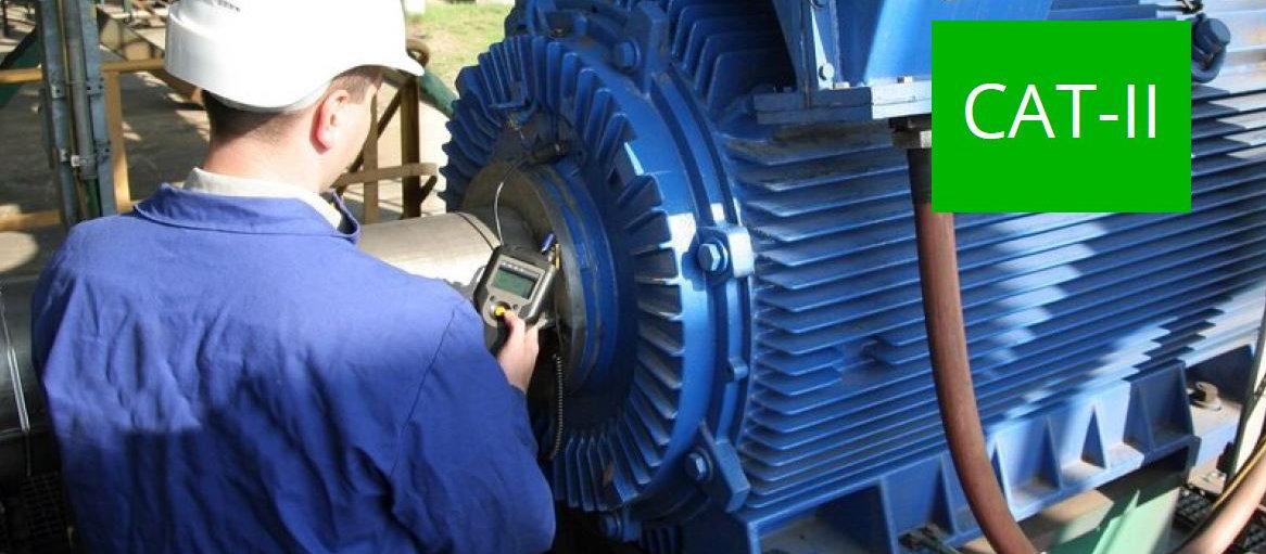 Vibración mecánica ISO CAT II